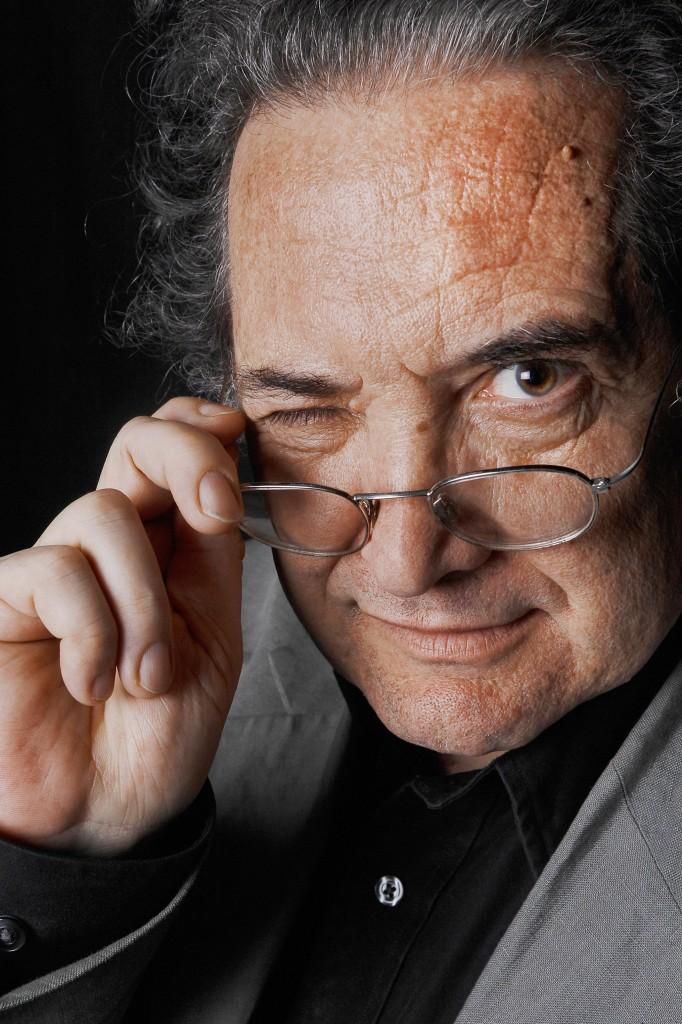 Ricardo Piglia fotografiado durante el Festival VivAmérica.