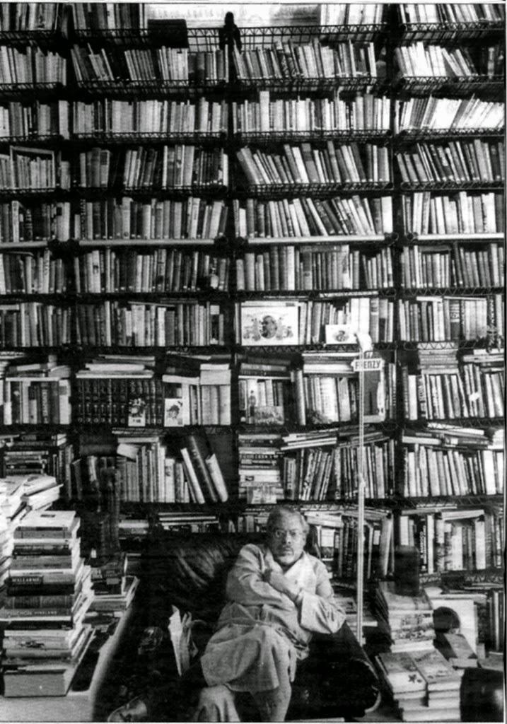Cabrera-Infante biblioteca