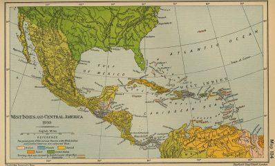 Mapa-histrico-de-Amrica-Central-y-Caribe-1910