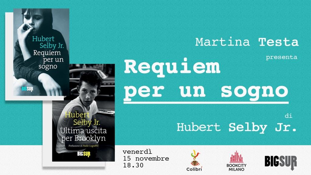 Requiem per un sogno Milano Bookcity