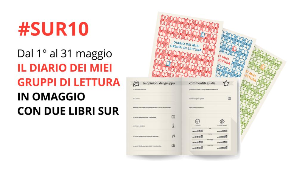 #SUR10 campagna diario dei miei gruppi di lettura